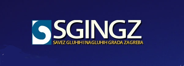 Logo Saveza gluhih i nagluhih grada Zagreba